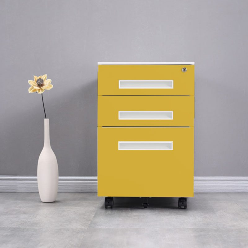 Movable File Storage Cabinet