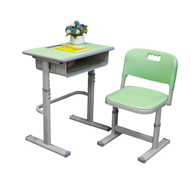 Plastic School Desk and Chair