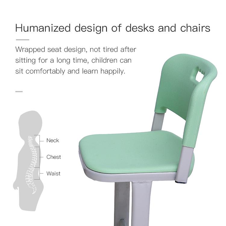 Plastic School Desk and Chair
