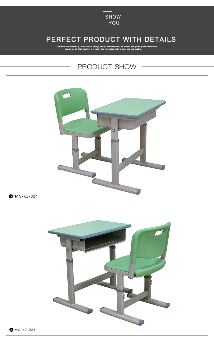 Comfortable School Desk and Chair