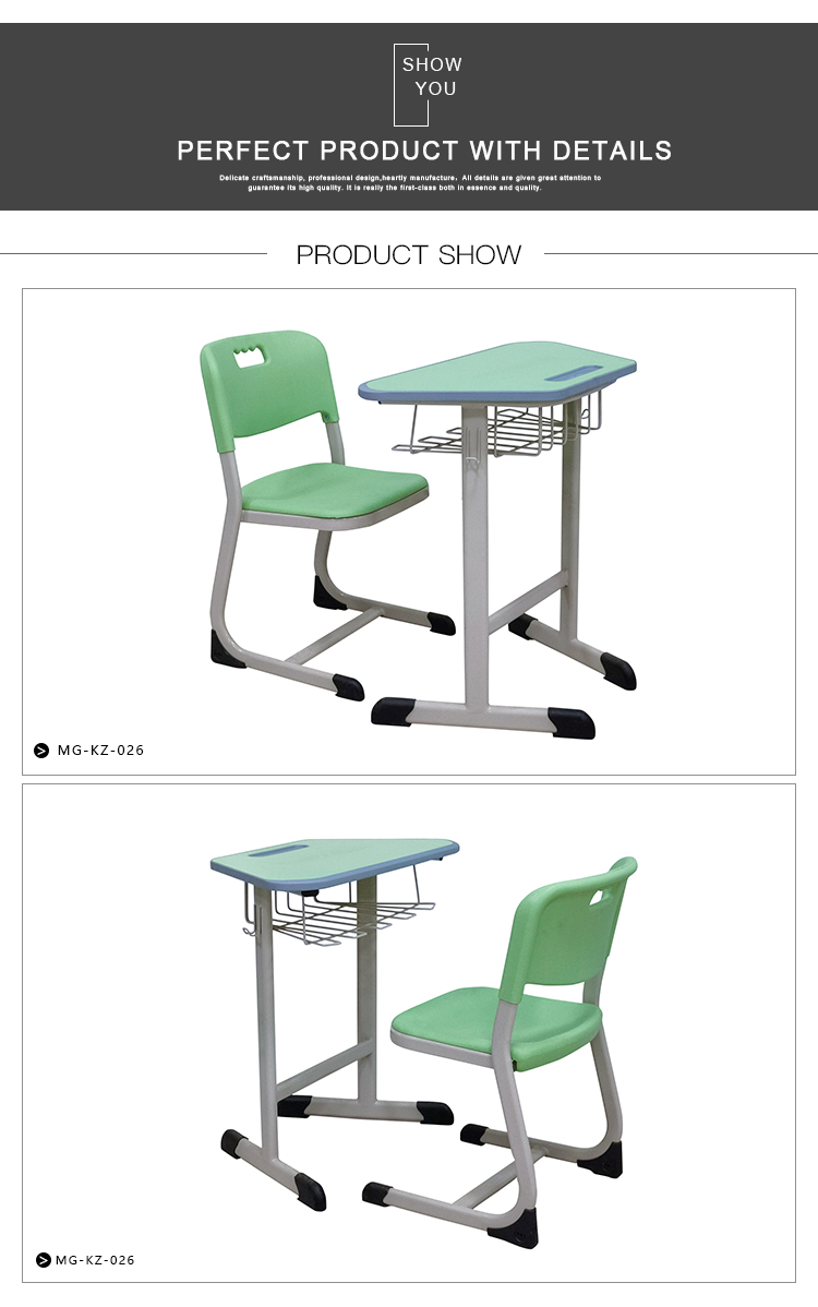 Modern School Desk and Chair